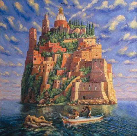 """Sergio Michilini, """"L'isola dei vivi"""" (1995)"""
