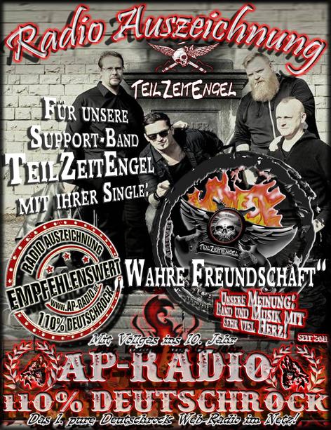 TeilZeitEngel bei AP-Radio - 110% Deutschrock