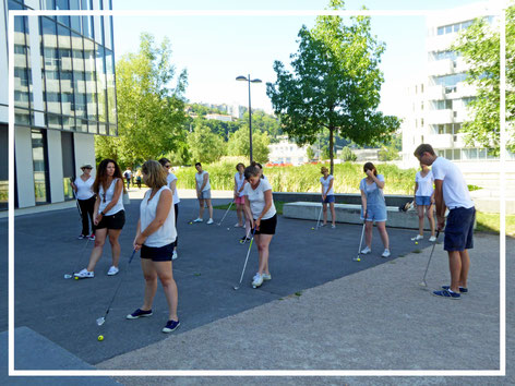 Animations Lyon Street golf: team-building, enterrement de vie de garcon (evg) aniversaires...