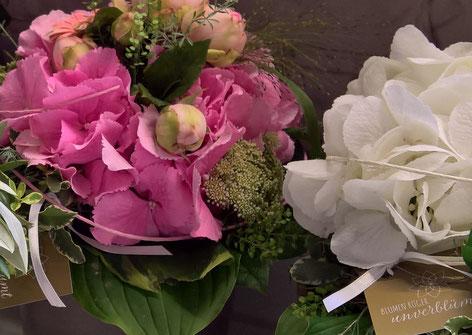 Blumenabonnement, Firmenservice