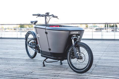 Carqon Cargo e-Bike in der e-motion e-Bike Welt in Göppingen