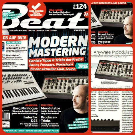 MOODULATOR - German BEAT Magazin Test