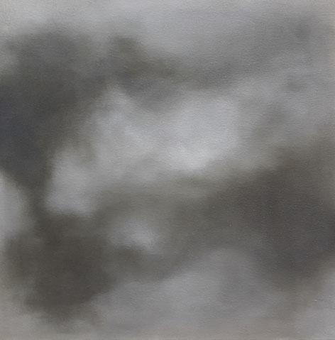 Sommer 2021, 50 x 50 cm, Öl auf Leinwand