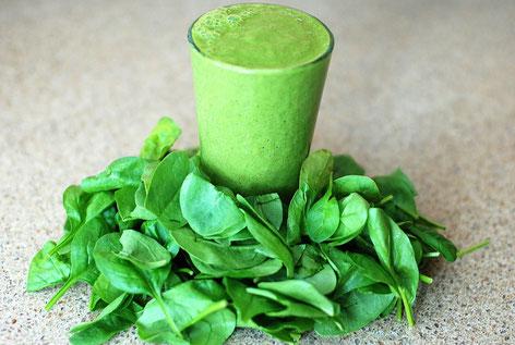 Grüner Moringa Smoothie
