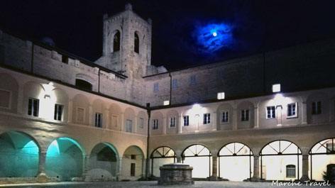 Torre del Passero Solitario - Chiesa di S. Agostino, Recanati