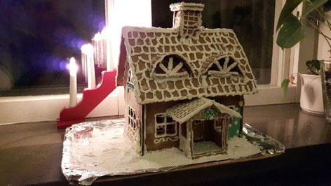 Lebkuchenhaus: eine Kreation von Maria Korten und Lioba Dietz