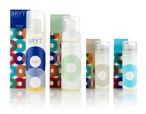 BRYT Skincare For Him product range