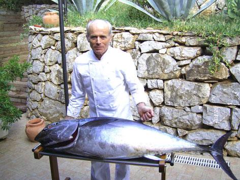 Das Hotel mit eigenem Fischfang wird von der Familie Russo gefuehrt.