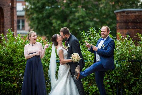 Kirche Stendal mit Hochzeitsfotografen