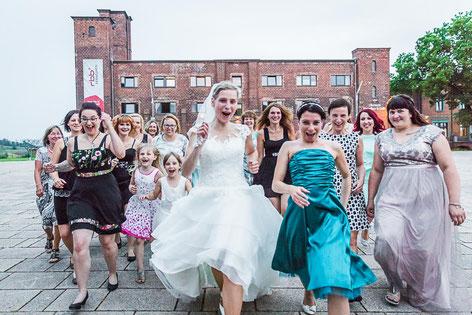 Heiraten in der Alten Ölmühle Wittenberge mit Hochzeitsfotografen