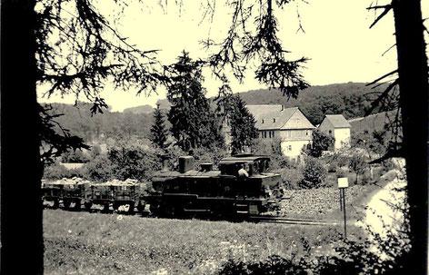 Lok12 oder 13 am Haltepunkt Hüttenmühle