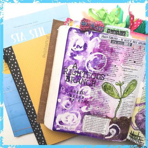 biblejournaling voorbeeld genesis 22  #zomerleesplanstastil Jehova Jireh