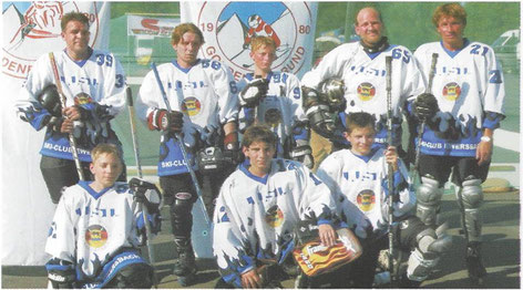 Das Team Inline-Hockey