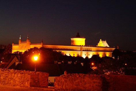 Lublin bei Nacht