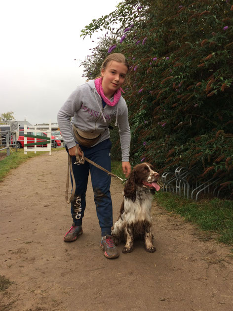 "Emelie and Charlie at ""Jump & Dog"", Photo: Peggy Werner"
