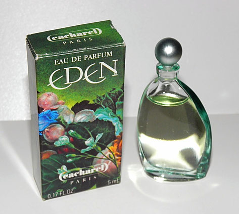 EDEN - EAU DE PARFUM 5 ML - FLACON VERRE TRANSPARENT