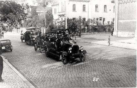 Feuerwehr 1934 (Schultesstraße?)