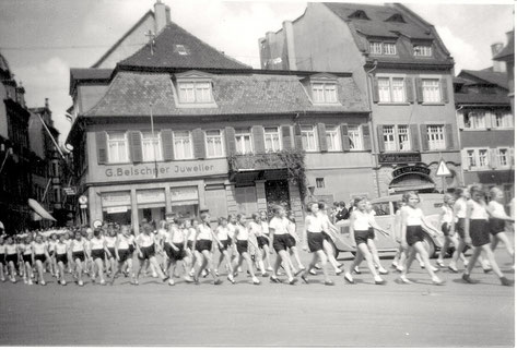 Umzug der Turngemeinde ca. 1933