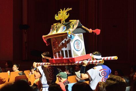 寧鼓座 奈良和太鼓 太鼓フェスティバル一国伝 神輿