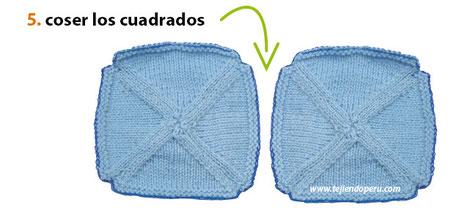 Paso a paso: cómo tePaso a paso: cómo hacer una manta con triángulos tejidos en dos agujas o palitosjer una manta con tablillas caladas en dos agujas o palitos