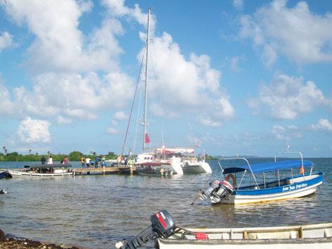 El Catamaran, fuimos muy pobres para acceder a él.