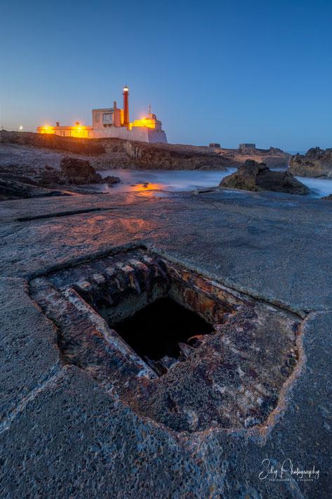 Portugal / Farol Cabo Raso, Sintra, Langzeitbelichtung, 2019, © Silly Photography