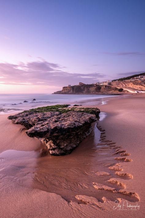 Portugal / Praia da Magoito, Sintra, Langzeitbelichtung, 2019, © Silly Photography