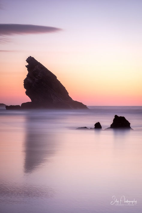 Portugal / Praia da Adraga, Langzeitbelichtung, 2019, © Silly Photography