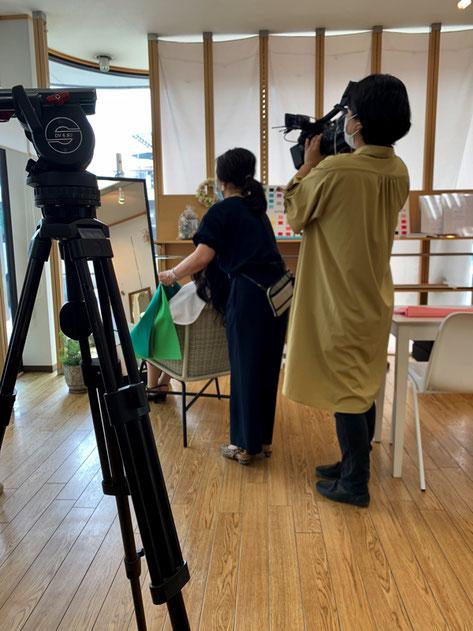 ふじや・セイコ店長のパーソナルカラー診断にTV取材が!