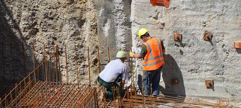 Exécution d'un chantier de construction de station d'épuration des eaux avec Pajot Entreprise