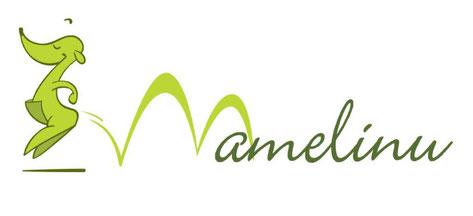 Logo Mamelinu mit dem Känguru