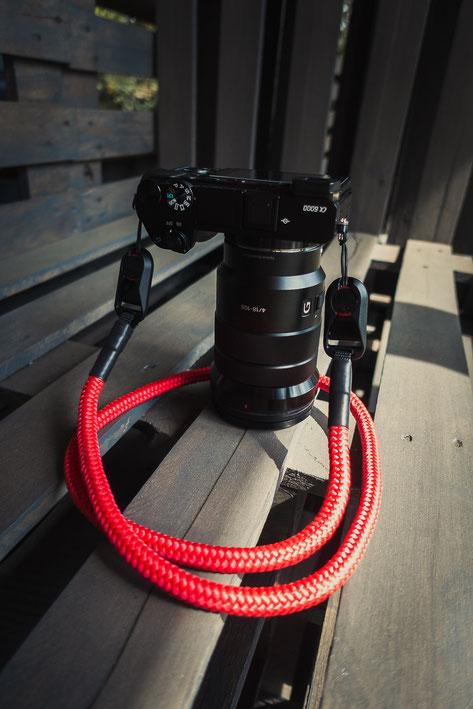 Kameragurt, Camerastrap, Wunderformat, Seilstyles
