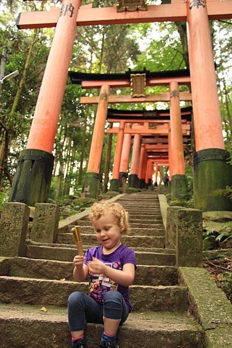 Kyoto - 5 Family Friendly Hikes - Hiking the Fushimi Inari Shrine in Kyoto
