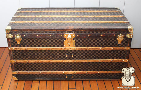 old Louis Vuitton mail trunk