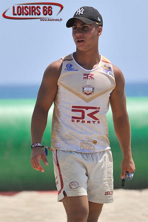 Loisirs 66 partenaire Beach Rugby League 2018