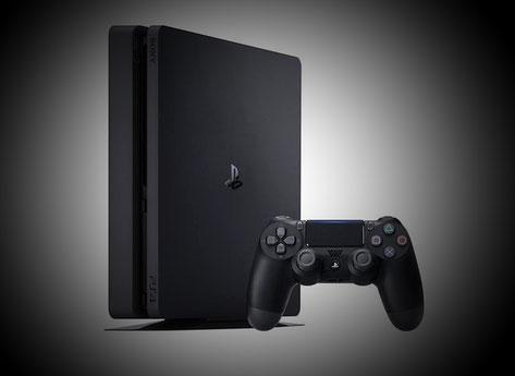 PS4 Slim mit DualShock 4 Contoller