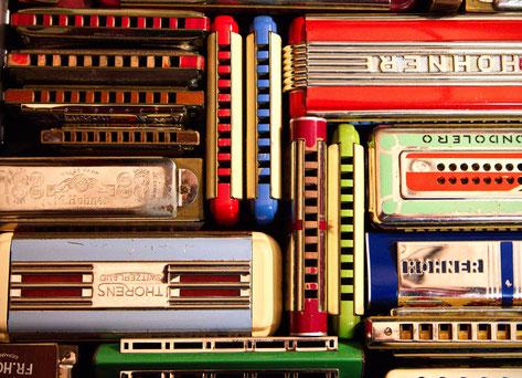 Harmonicas Hohner Thorens Seydel tremolo chromatique
