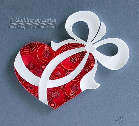 quilling , quilling paper, paper art, art, love, design, love heart, hearts, quilling art, quilling paper art, etsy, quillingbylarisa, quilling heart, love art, artwork