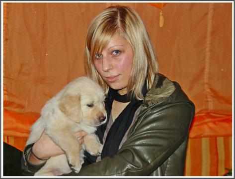 Annika mit Bodo am 28 März 2010