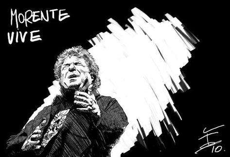 Enrique Morente por siempre ilustración
