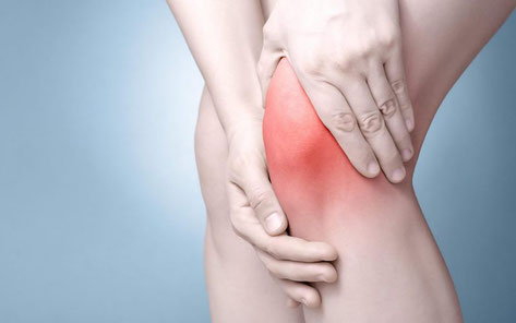 膝が痛いランナー