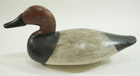 American folk art decoy duck