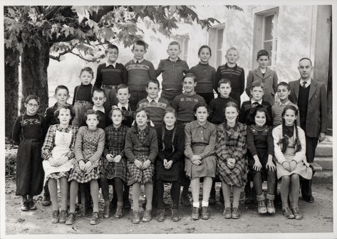 Oberschule Wittnau 1951 (Lehrer: Arthur Hort)