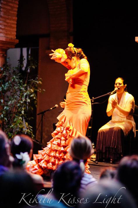 después en el Museo de Flamenco ...  Lidia Valle