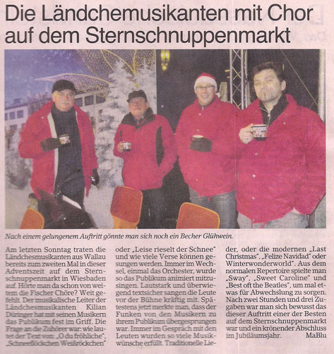 Bericht im Erbenheimer Anzeiger 21.12.2012