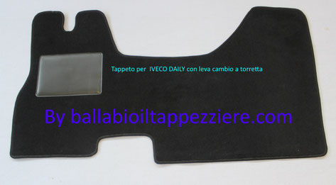 tappeto per furgone iveco daily  by ballabioiltappezziere.com