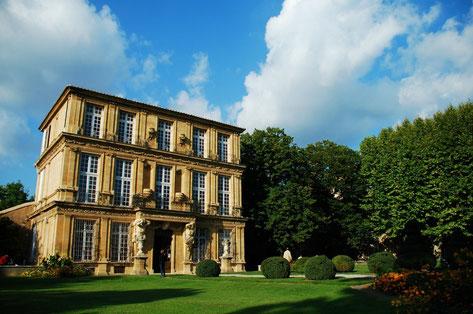 Aix-En-Provence top things to do Pavillon Vendome Copyright Minoir