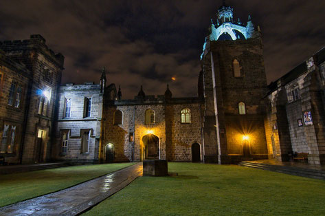 Aberdeen top things to do - Aberdeen University - Copyright Mickael Minarie