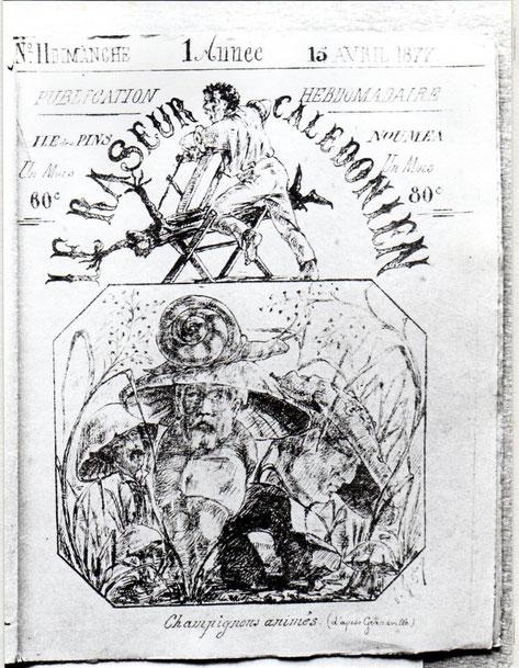 D16 - Le Raseur Calédonien, 15 avril 1877.