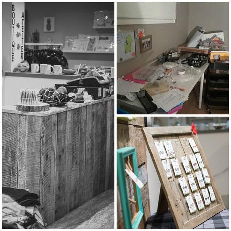 Etsy Qc, portrait de créateur, les bois de lou, atelier boutique
